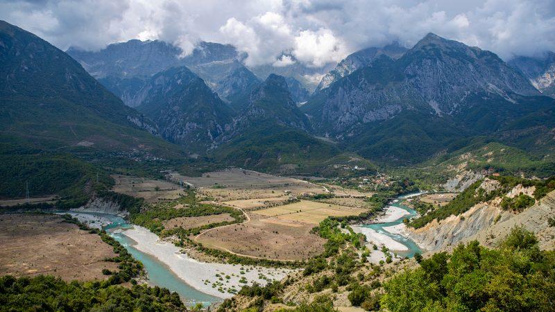 Река Вьоса в Албания. [Shutterstock/Michaela Klenkova]